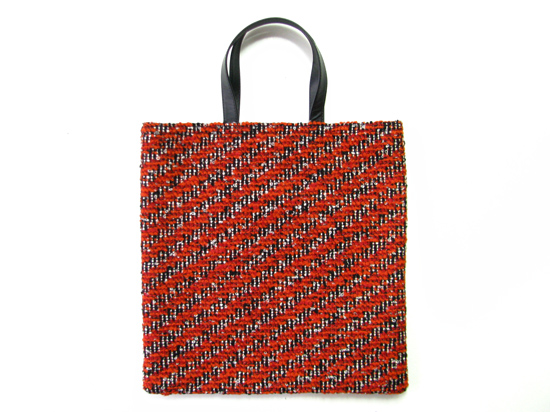 YLINUM square tote bag vintage european fabric