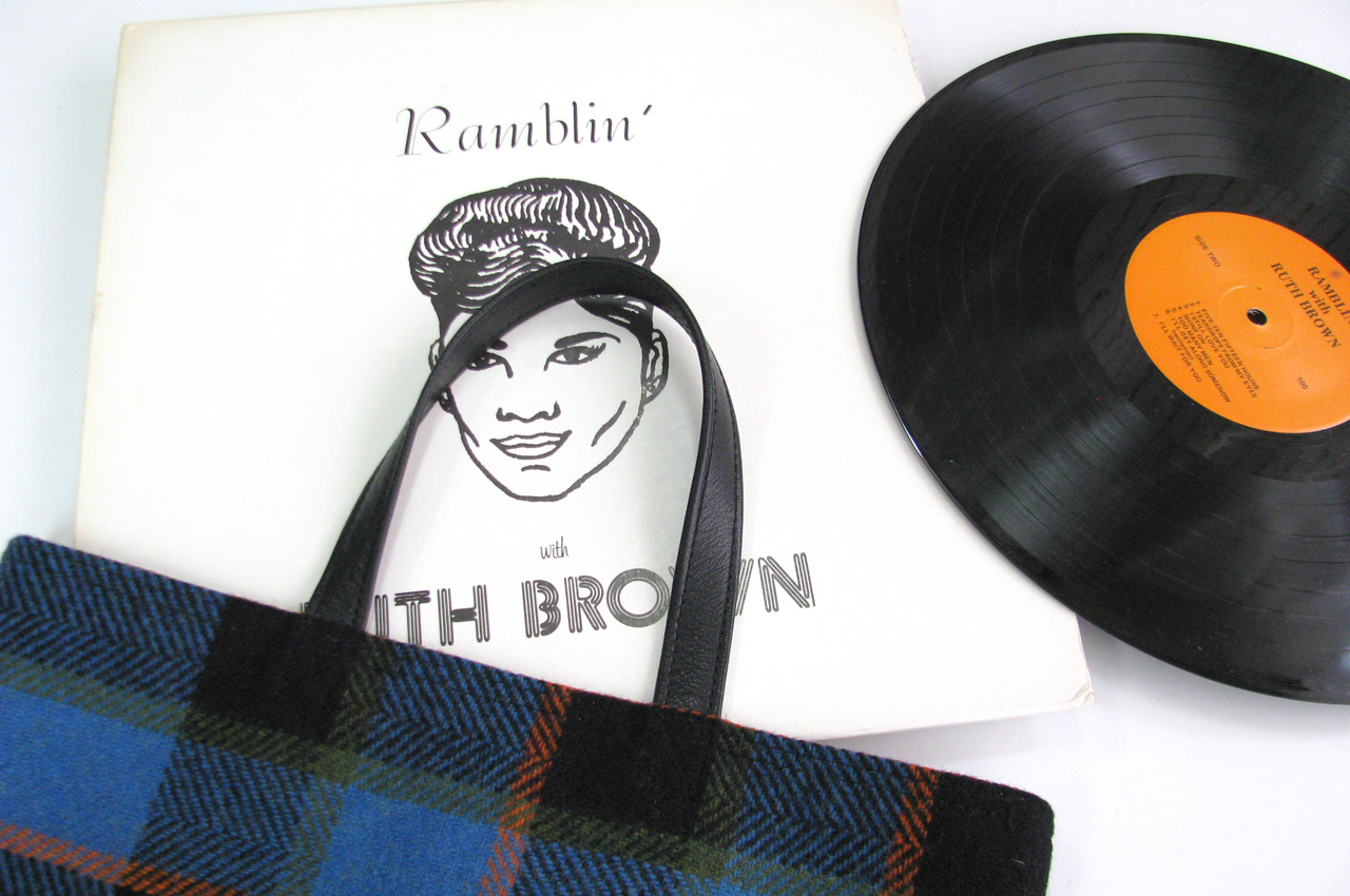 LP Tote bag RUTH BROWN - Ramblin'